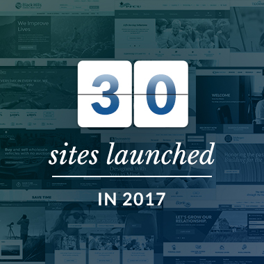 30 websites launches 2017