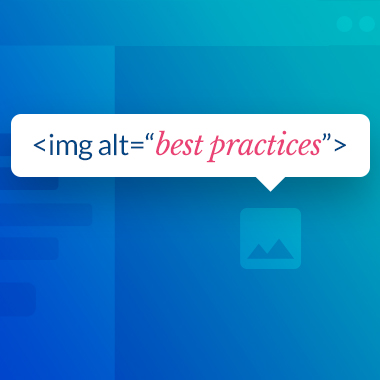 ALT tag best practices