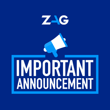 ZAG pandemic announcement