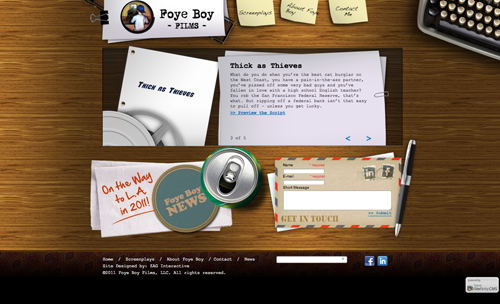 Foye Boy Films new website