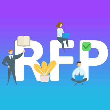 writing website redesign RFP