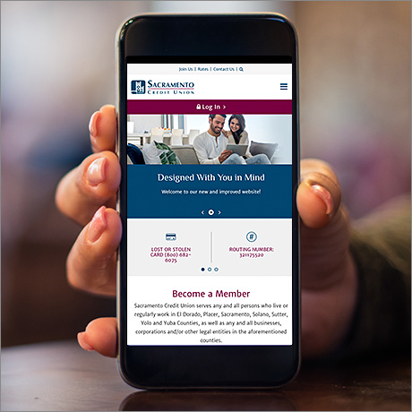 sacramento credit union mobile website