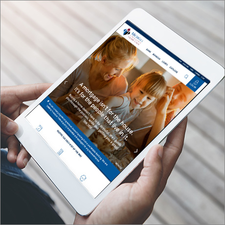 MSGCU website mobile